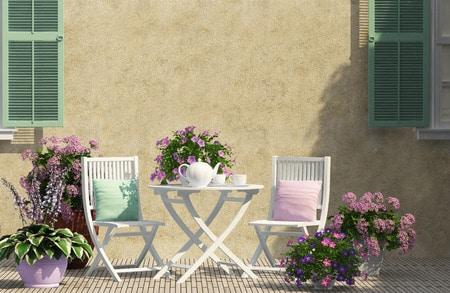 Comment entretenir votre mobilier de jardin en PVC ?