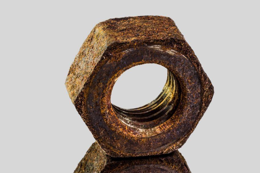Se débarrasser de la rouille sur du métal…