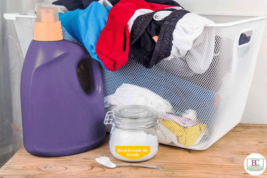 Utiliser le bicarbonate de soude pour une lessive plus douce et plus brillante